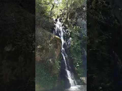 Fraga da Pena: kleiner Wasserfall in Portugal